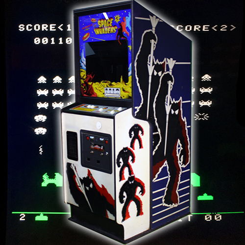 Space Invaders Arcade Rental