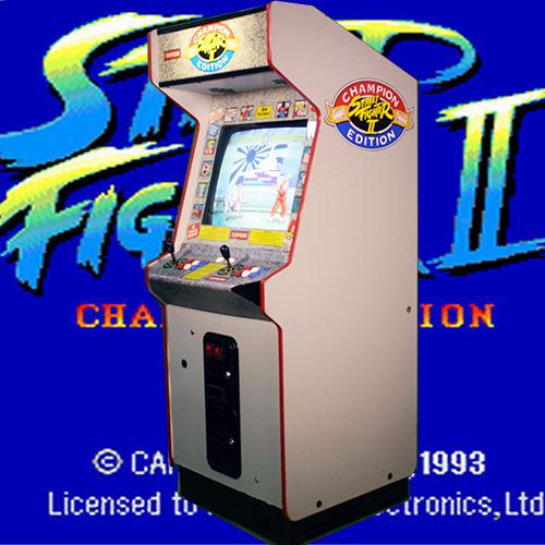 Street Fighter 2 Arcade Rental