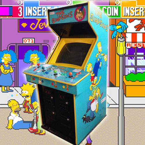 Simpsons Arcade Rental