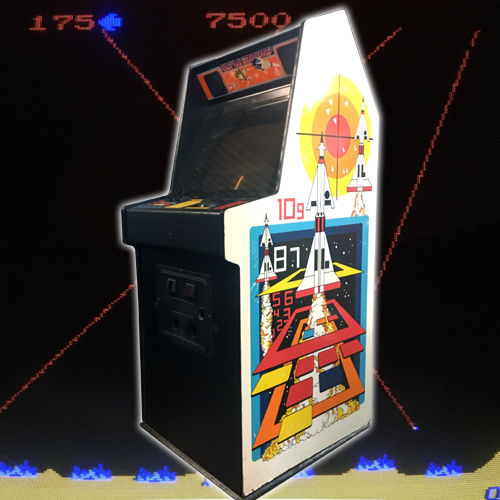 Misslie Command Arcade